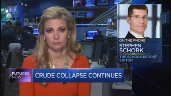 Stephen Schork: Big money bets against crude