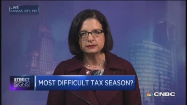 Tax filing alert!