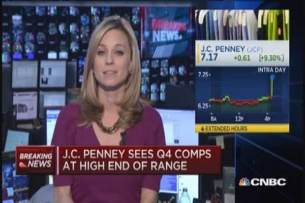 JCP's Q4 comps a 'surprise'