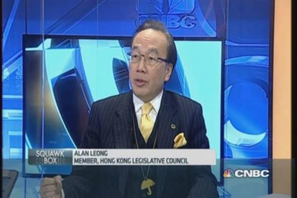 HK won't see real democracy: Legislator