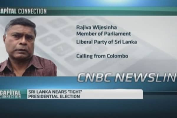 Tight presidential election set in Sri Lanka