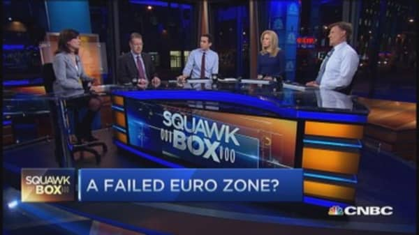 Can't turn back clock on euro: Pro