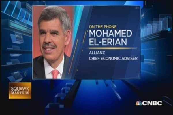Don't give up liquidity too quickly: Mohamed El-Erian