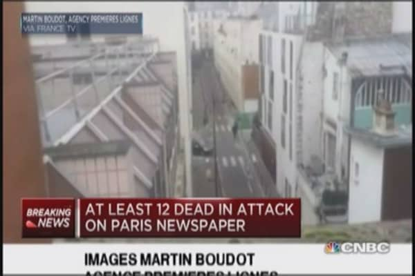 Paris shooting: Manhunt underway