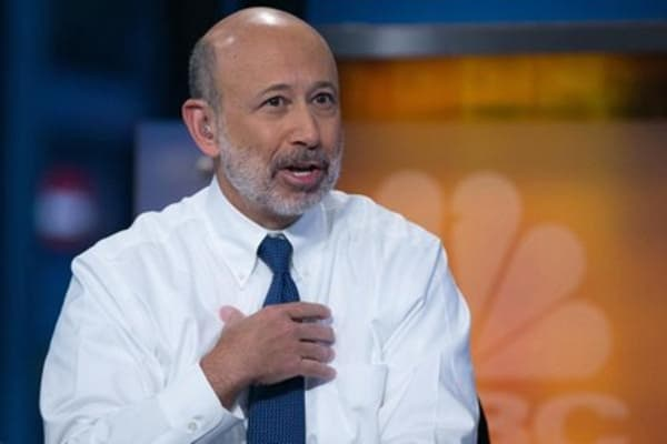 Blankfein's big picture look at stocks