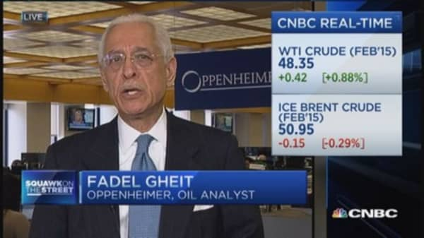Oil weakness reflective of fragile economy?