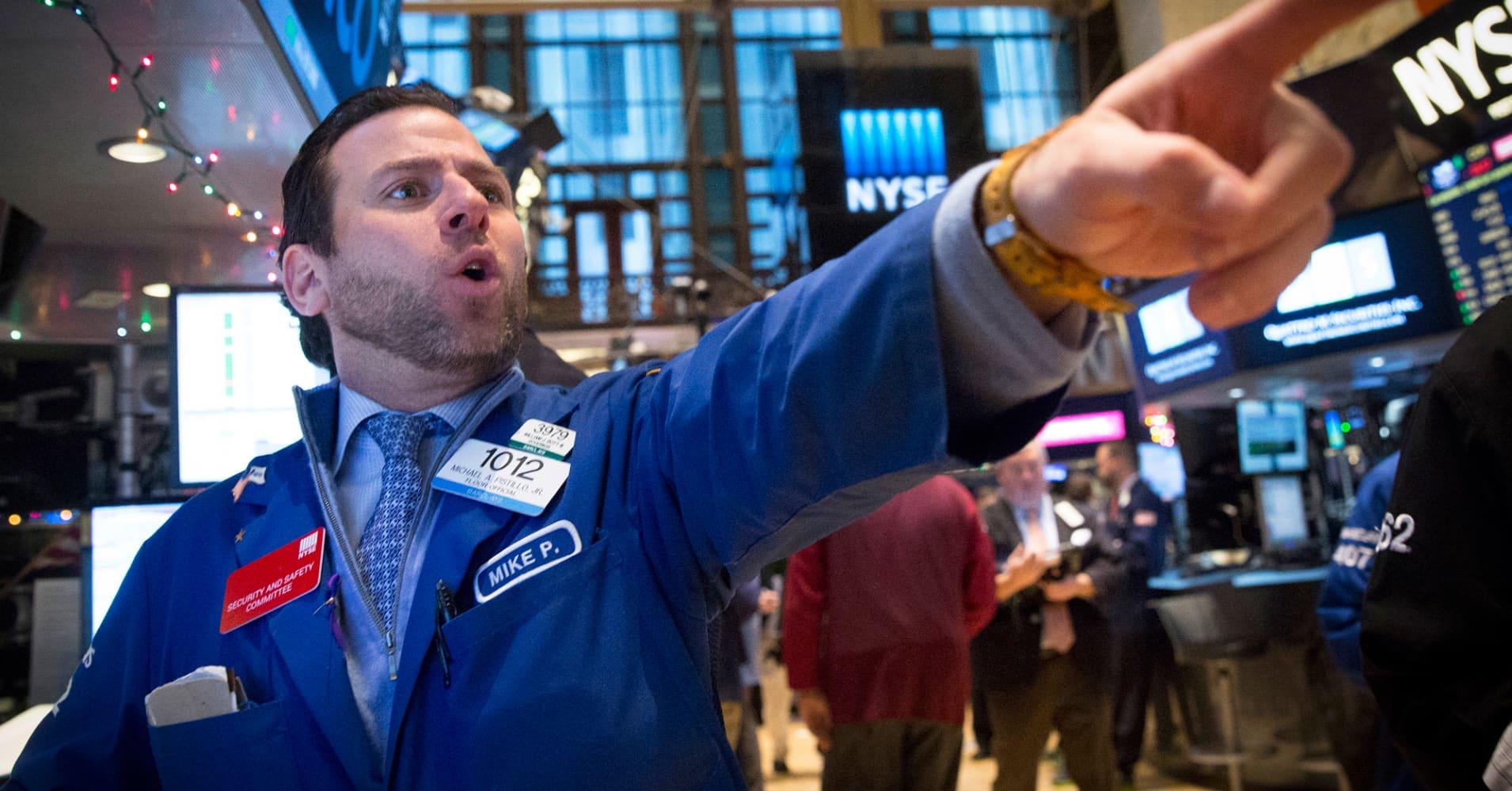 Option trading halted