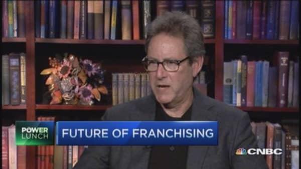 Franchising boom