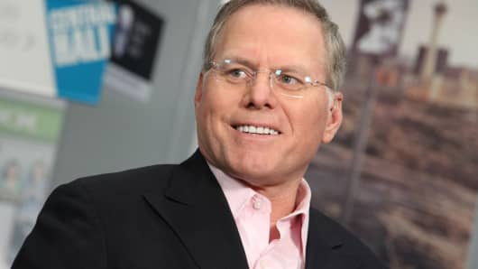 David Zaslav, president and chief executive officer of Discovery Communications.