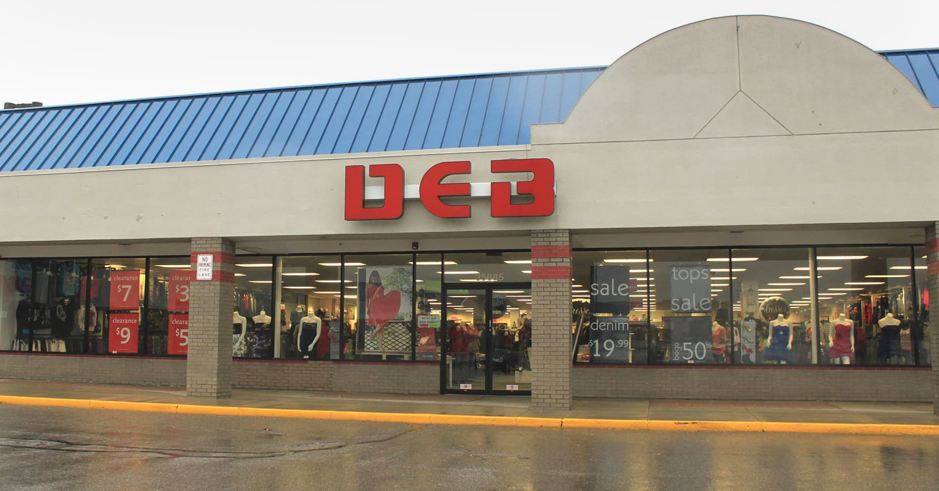 Debs clothing store online application