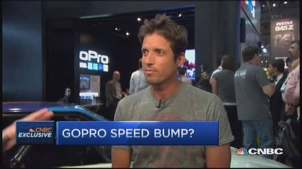 GoPro CEO: Not selling a thing, selling promise of great content