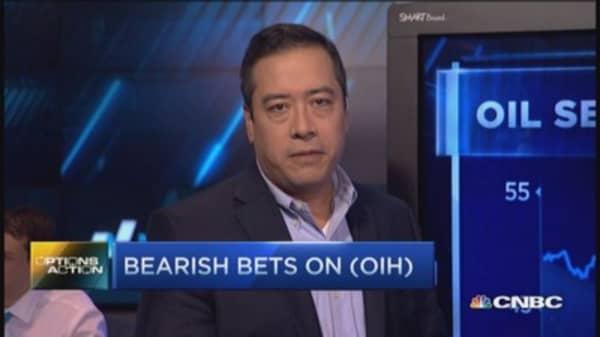 Options Action: Bear's bet on OIH