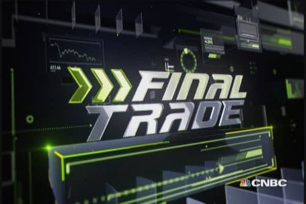 Fast Money Final Trade: CVX, SLV, URI & DPZ