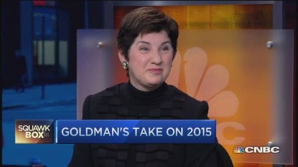 Goldman 2015 outlook: US still preeminent economy