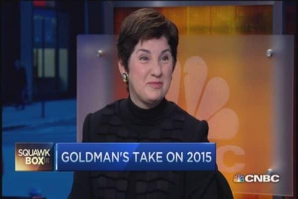 Goldman 2015 outlook: US still preeminent economy
