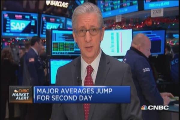 All 10 S&P sectors up
