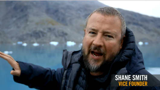 Shane Smith on an episode of Vice.