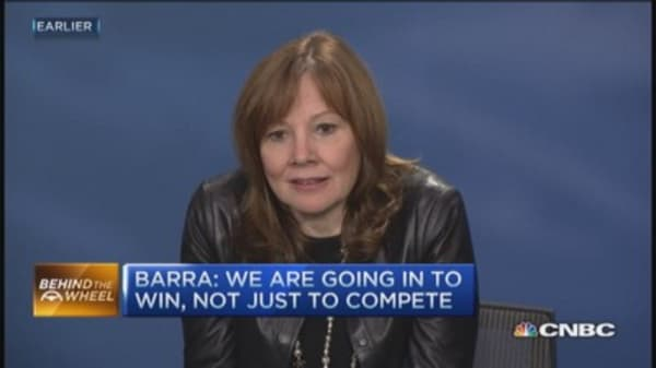 GM Barra's optimistic forecast
