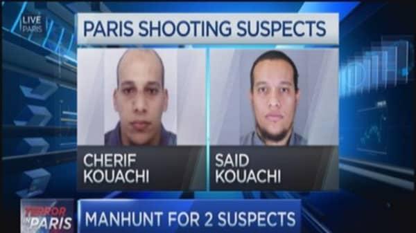 French police manhunt now door to door
