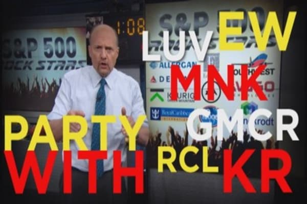 Cramer: Party with these rock star stocks