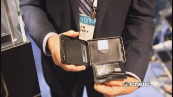 Wallet of the future is expensive