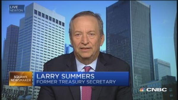 US economy not doing well enough: Larry Summers