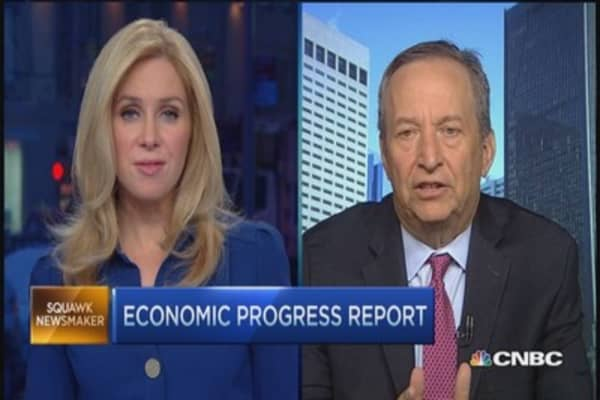 Larry Summers' plan to improve US economy