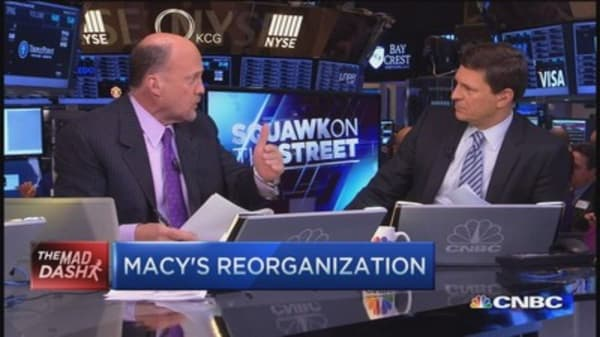 Cramer's Mad Dash: New face of retail
