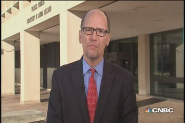 Labor Sec. Perez: Wage growth unfinished business