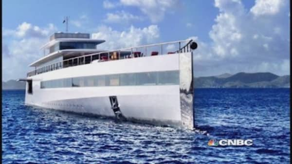 Steve Jobs's secret yacht