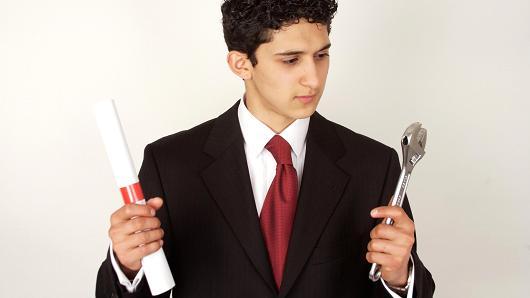 College vs. vocational training