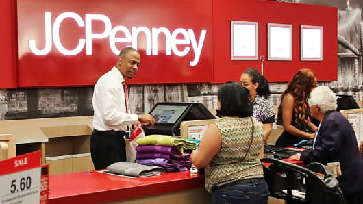 A J.C. Penney store in Brooklyn, New York.