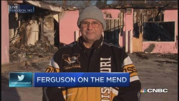 Ferguson biz owner: Rebuild an uphill battle