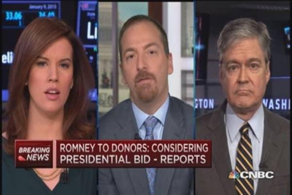 Romney considering presidential re-bid: Report