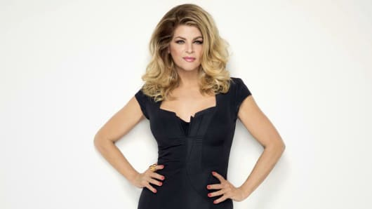 Kirstie Alley for Jenny Craig