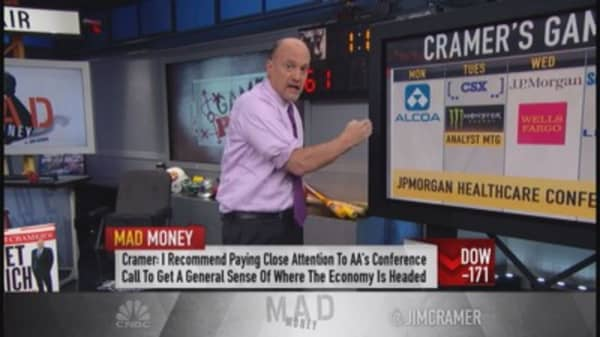 Cramer: Earning season back; Learn from CEOs