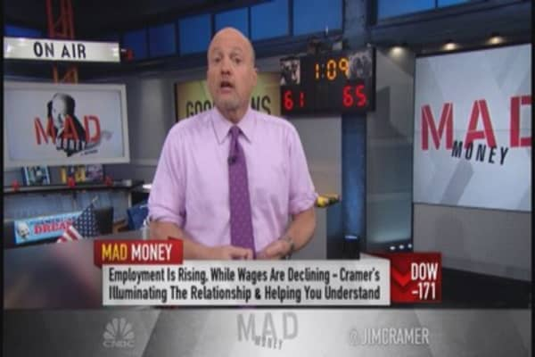 Cramer on jobs report: The good vs. bad