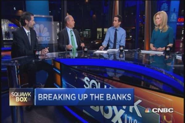 Inside a big bank break up