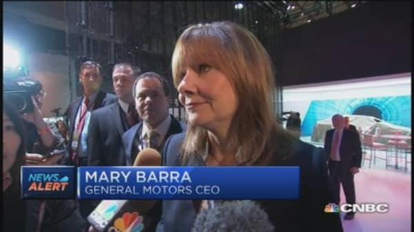 GM's Mary Barra: Volt natural evolution