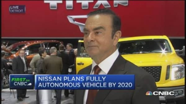 Nissan CEO: Expect autonomous car by 2020