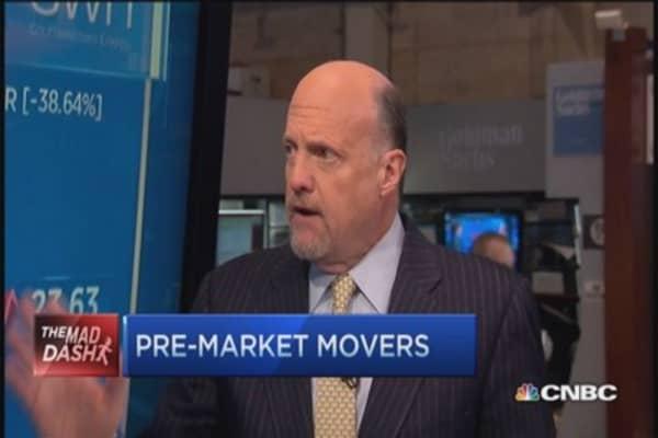 Cramer's Mad Dash: Alcoa raises the bar