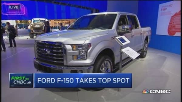 Ford CEO: F-150 redefines tough