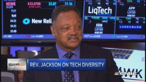 Pushing for Silicon Valley diversity