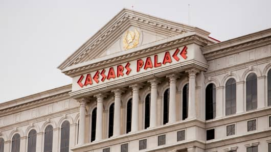 Caesars Entertainment Corp.'s Caesars Palace in Las Vegas.