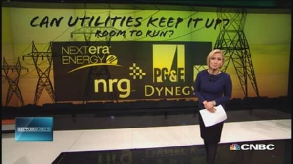 How high can utilities go?