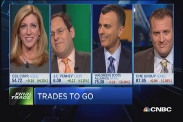 FMHR Final Trade: CBS, JCP, CME & WBA