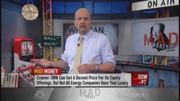 Cramer: Too early to bottom-fish oil patch