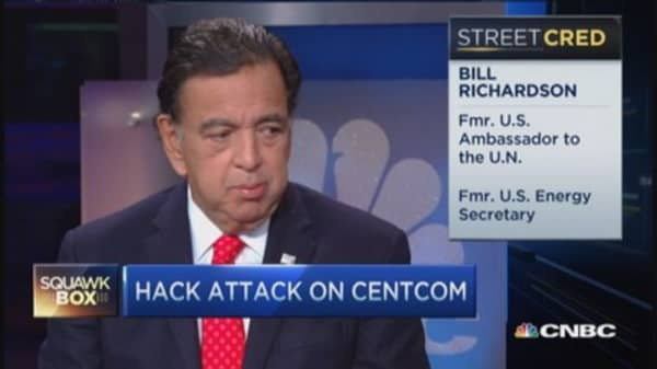 US needs cybersecurity policy in place: Bill Richardson