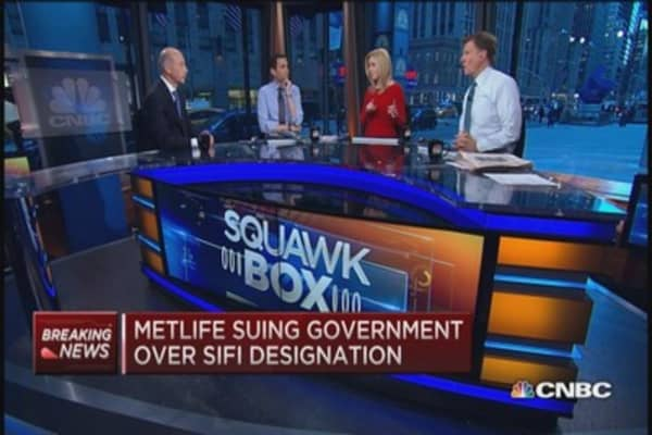 Strong regulation but no label please: MetLife CEO