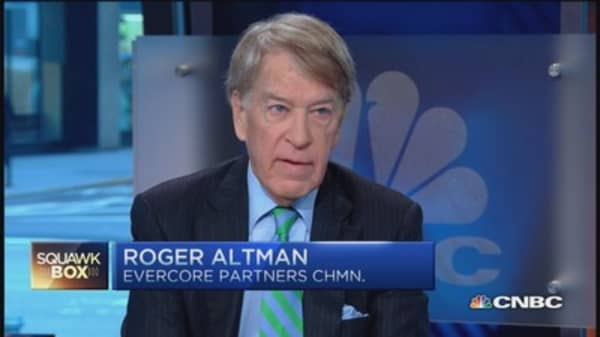 Capitol Hill tax tussle not going anywhere: Roger Altman